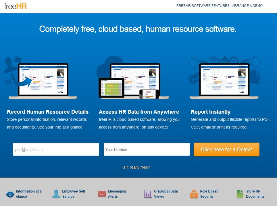 freeHR com : Cloud Based Free HR Software - HR in ASIA