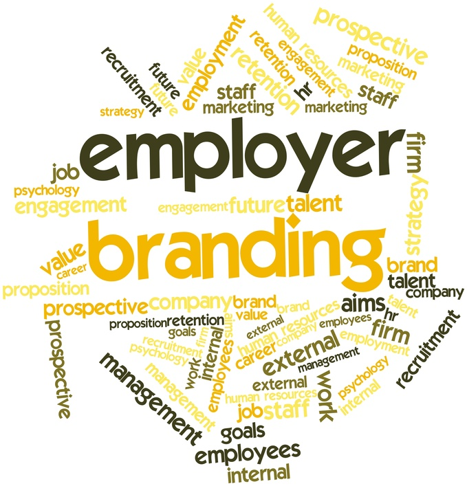 employee branding Company branding is a familiar concept but what about employment  on perks,  benefits, and the culture a potential employee could expect.