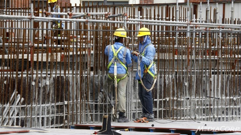 workers public Construction in