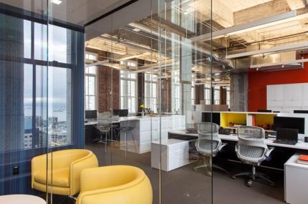 Did You Know the Mere Design and Colour of Walls at Workplace Can Promote Employee Wellbeing?