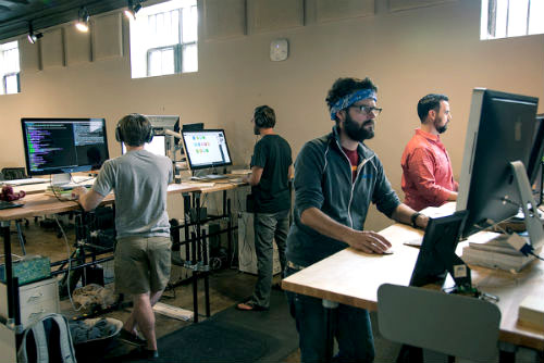 Are Standing Work Desks The Answer To Boost Workplace