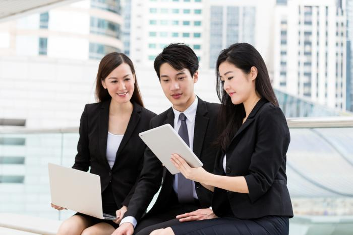 Asian Business People 34