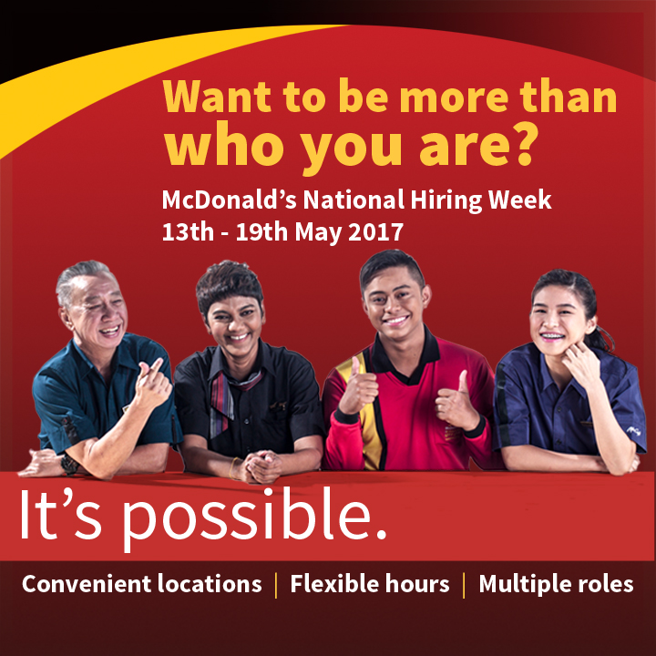 mcdonalds recruting Property jobs at macdonald and company, the leading international property recruitment consultancy search online for your next job in property or call us to talk to.