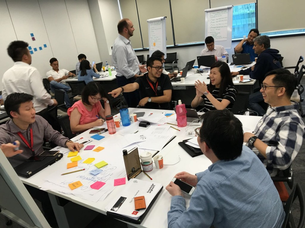 Hackathon organised to assess candidates at DBS Bank