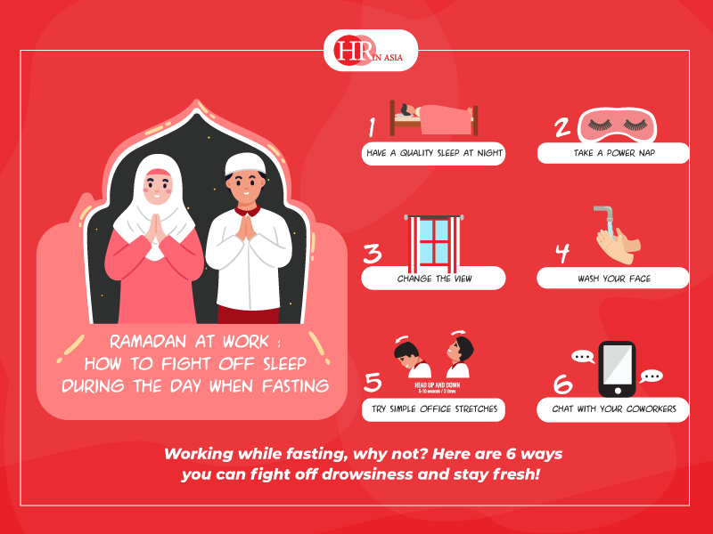 Ramadan at Work: How to Fight Off Sleep during the Day When Fasting