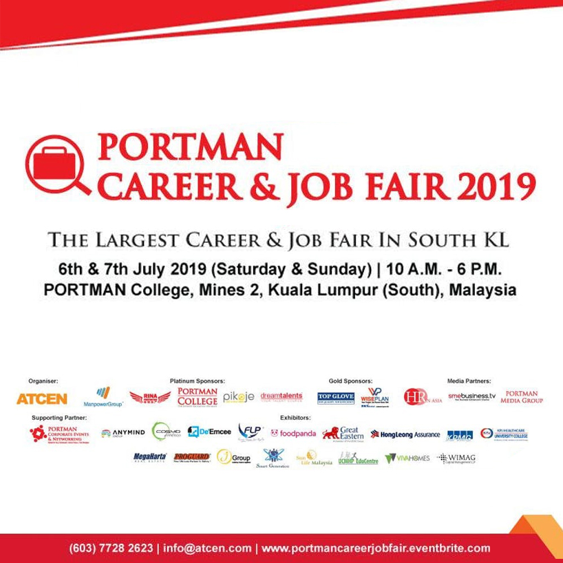 PORTMAN Career & Job Fair 2019