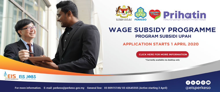 Socso approved RM8.97 bil under Wage Subsidy Scheme