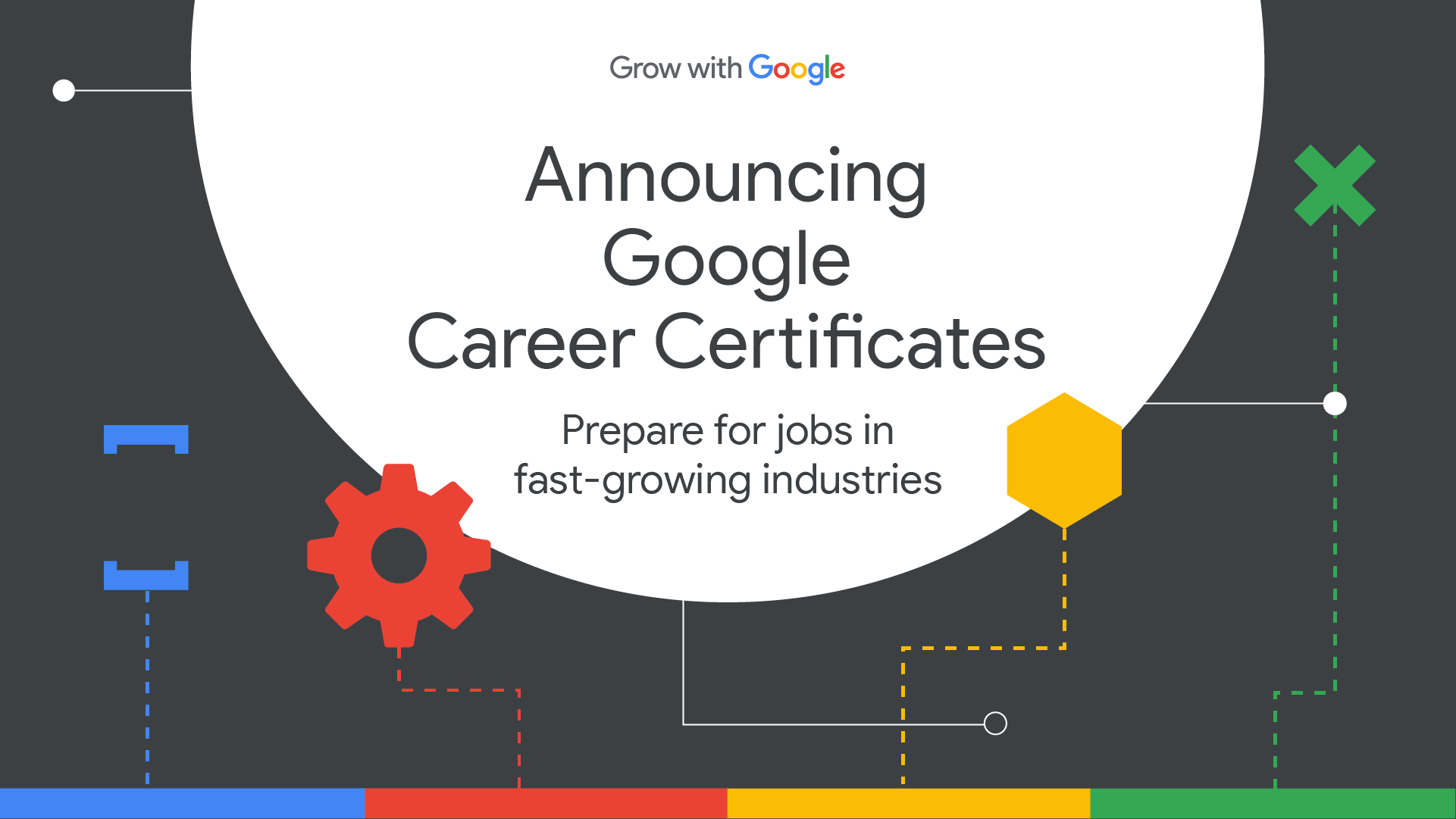Google Offers Career Certificates in Data Analytics, Project Management, and UX Design