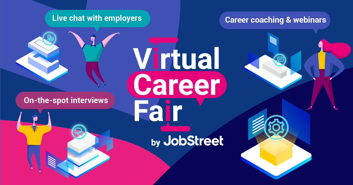 Looking for New Jobs during Pandemic? JobStreet Holds Virtual Career Fair This Month