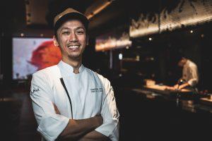Chef Tomoyuki Kiga, Chef de Cuisine of Akira Back Singapore, JW Marriott Singapore South Beach